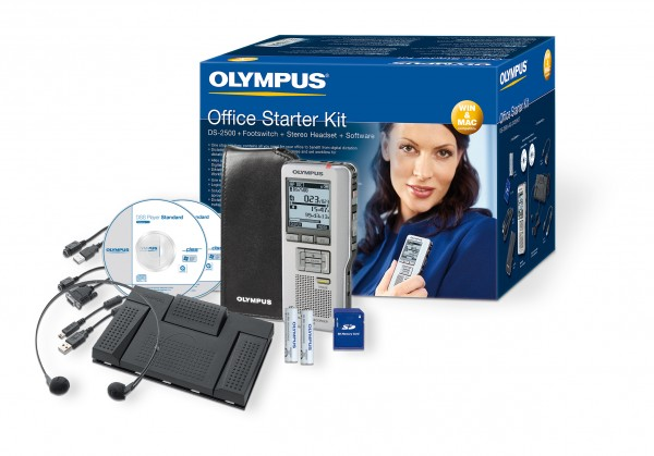 Olympus Starterkit DS 2500+AS 2400