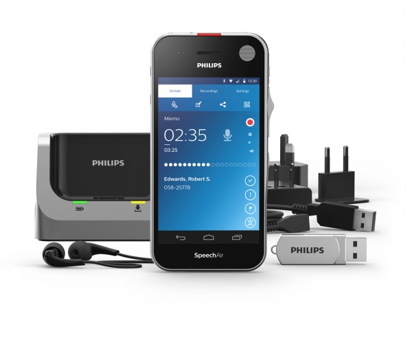 Philips PSP2100 - SpeechAir smartes Diktiergerät