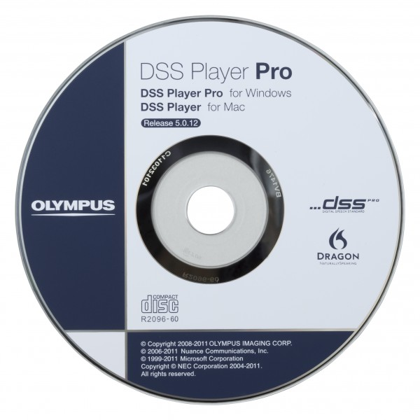Olympus AS-5002 DSS Player Pro Software , Vollversion, Transcription
