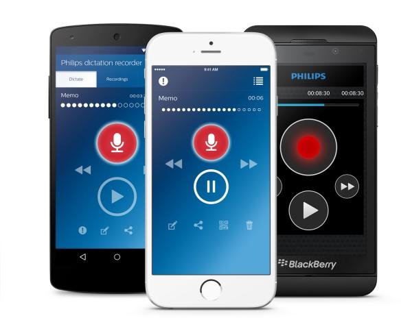 Philips LFH7400 - Diktier-Recorder-App