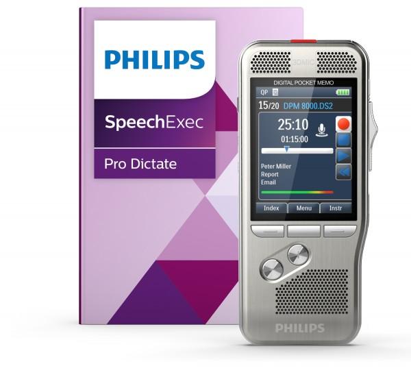 Philips PSE8000 - PocketMemo Diktier- und Spracherkennungsset
