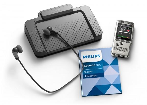 Philips DPM6700 - PocketMemo Diktier- und Transkriptionsset