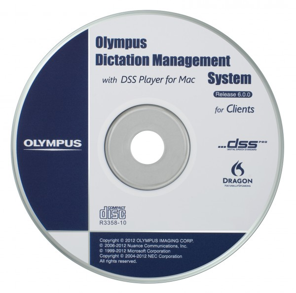 Olympus AS-7002 ODMS Transcription Module Software