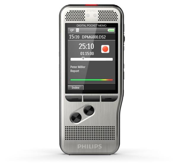 Philips DPM6000 - PocketMemo Diktiergerät