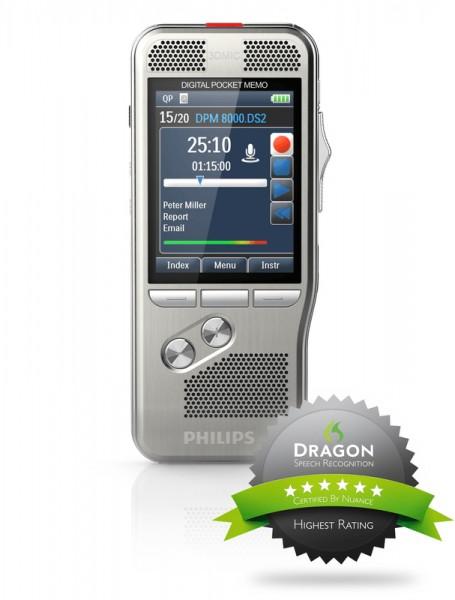 Philips DPM8000 - PocketMemo Diktiergerät