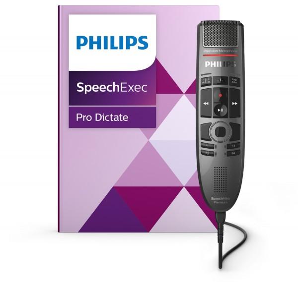 Philips PSE3700 - SpeechMike Premium Touch Diktier- und Spracherkennungsset