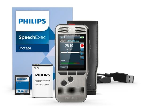 Philips DPM7200 - PocketMemo Diktiergerät